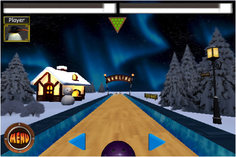 Screenshot Penguin&#39;s Bowling Lite